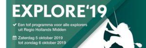 Op 5 en 6 oktober vindt de Explore19 plaats op het Klimeiland bij de Vlietlanden in Voorschoten